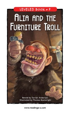 Alia and the Furniture Troll
